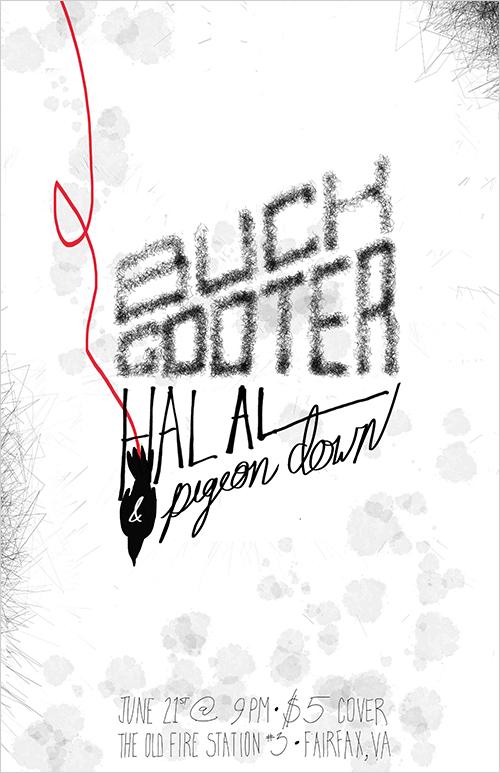 Buck Gooter Poster